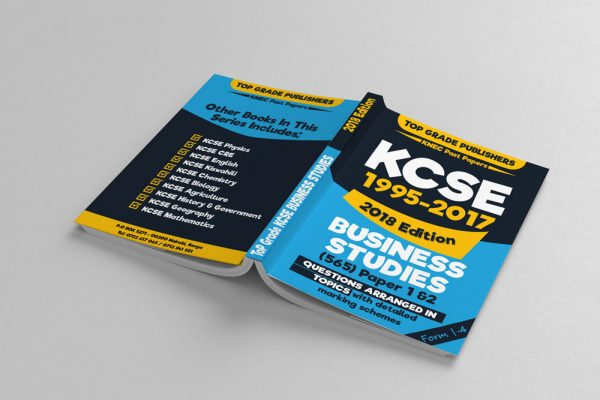 Revision Past Papers Cover design – Top Grade Publishers