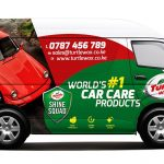 Turtle Wax Kenya Toyota Hiace Van Branding