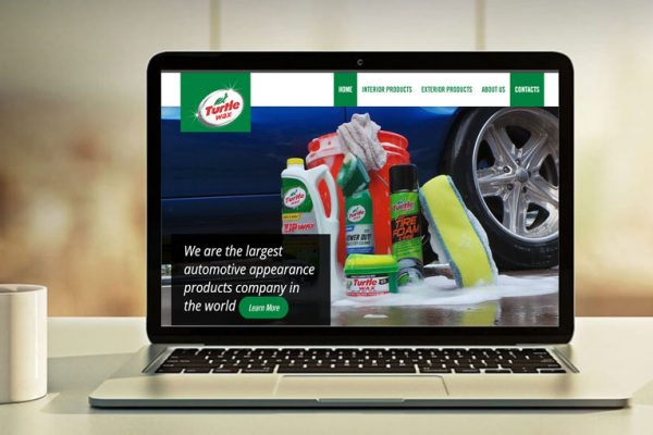 Turtle Wax Kenya Website Development