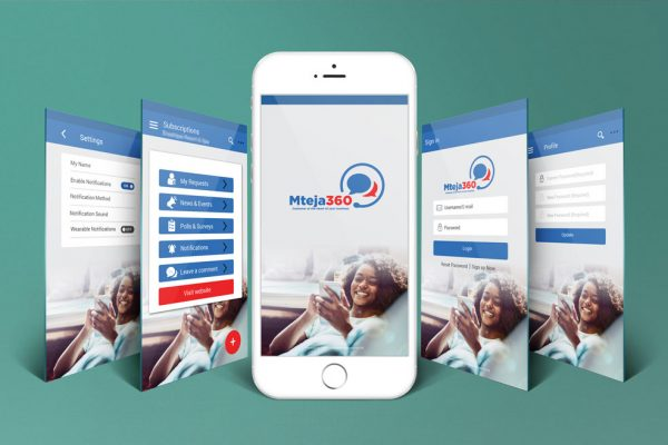 Mteja360 APP User Experience/Interface Design