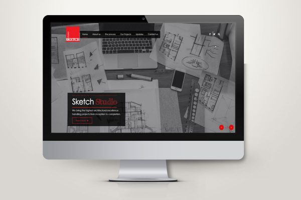 Sketch Studio Website Redevelopment