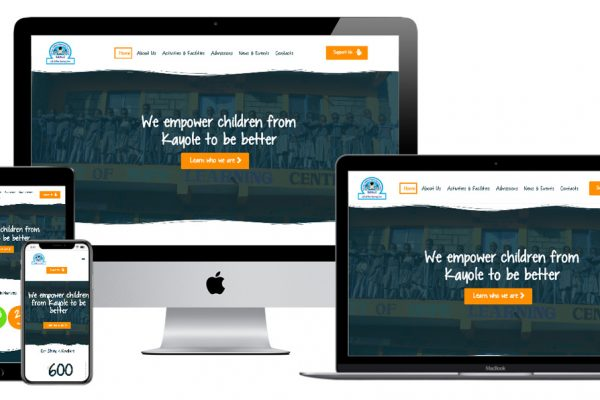 School website development -GOHLC