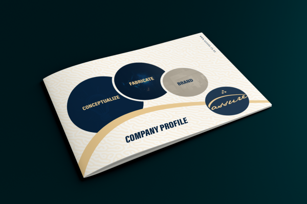Printing and branding company profile design