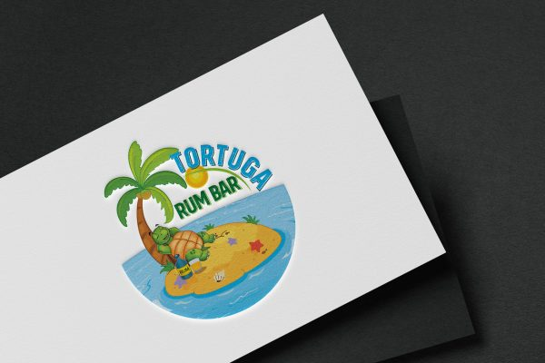Caribbean Vibe brand identity for a Bar